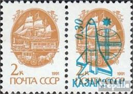 Kasachstan 8A Paar Postfrisch 1992 Weltraumflug - Kazakhstan