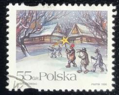 Polska - Poland - Polen - P1/2 - (°)used - 1996 - Kerstmis - Michel Nr. 3628 - Gebraucht