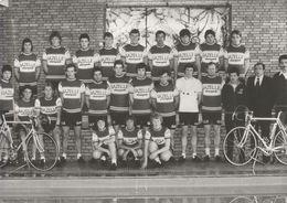 PHOTO PRESSE, TEAM GAZELLE 1979 FORMAT 12,7 X 17,7 - Wielrennen