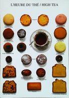 Carte Postale Publicité  L'heure Du Thé   TEA TIME  Biscuit - Publicidad