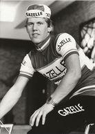 PHOTO PRESSE, JACQUES VOOYS TEAM GAZELLE 1979 FORMAT 12,7 X 17,7 - Wielrennen