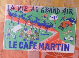 Le Café Martin : La Vie Au Grand Air - Ménagère à Gagner - 1956 - Koffie En Thee