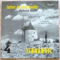 Les Lettres De Mon Moulin  Vol. 4 Fernandel LP 25 Cms - Vinyl Records