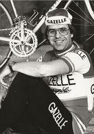 PHOTO PRESSE, AD TACK TEAM GAZELLE 1979 FORMAT 12,7 X 17,7 - Wielrennen