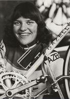 PHOTO PRESSE, ANITA KUYPERS TEAM GAZELLE 1979 FORMAT 12,7 X 17,7 - Wielrennen