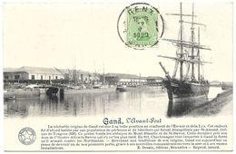 Belgium – Gand (Gent) – L'Avant-Port – Year 1920 – Stamp 5 C With King Albert - Gent