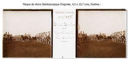Photo Ancienne Originale Stéréoscopique -  INDE - DELHI DURBAR - 3D - Relief - STEREO - Plaques De Verre