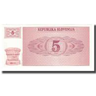 Billet, Slovénie, 5 (Tolarjev), KM:3a, SPL - Slowenien