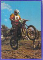 Carte Postale Motocross Enduro  Très Beau Plan - Motociclismo