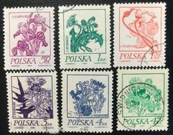 Polska - Poland - Polen - P1/3 - (°)used - 1974 - Schilderijen Van Bloemen - Michel Nr. 2296#2301 - 1944-.... Republik