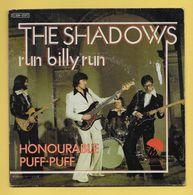 Disque Vinyle 45 Tours : THE SHADOWS :  RUN BILLY RUN..Scan A : Voir 2 Scans - Disco, Pop
