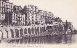 MON5  ~~  MONTE - CARLO  ---  LA RAMPE ET LES HOTELS - Monte-Carlo