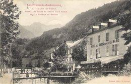 AULUS Hôtel Des Bains Et Grand Café Maris 1909 - Other Municipalities