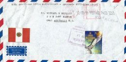 Lettre Du Perou, Adressée En Australie 1999 / Bolivarian Games. Arequipa. - Peru