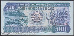 TWN - MOZAMBIQUE 131a - 500 Meticais 16.6.1983 Prefix AC UNC - Moçambique
