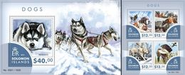 Salomon 2015, Animals, Dogs, 4val In BF +BF - Arctic Wildlife