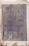 MIL855  --  FRANCE, DEUTSCHLAND  --   WW1  --  SOMME, 1916  --  SOLDATEN WITH DOG - Guerra 1914-18