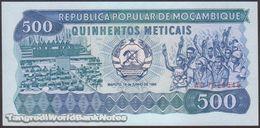 TWN - MOZAMBIQUE 131b - 500 Meticais 16.6.1986 Prefix AD UNC - Mozambique
