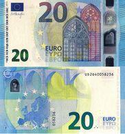 FRANCE (U), € - 20 EURO BANKNOTE -  ISSUE 2015, UNC - Frankrijk