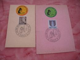 Erinnophile Lot De 15 Salon Enfance , Teinturerie Electronique  Sur Fragment - Commemorative Labels