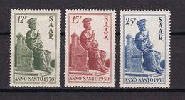 Saargebiet - 1950 - Michel Nr. 293/295 - Ungebr. M. Falz - 1947-56 Allierte Besetzung