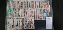 Année Compléte 1957 Timbres Neufs MNH ** - France