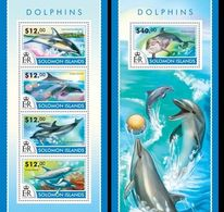 Salomon 2015, Animals, Dolphins I, 4val In BF +BF - Dolphins