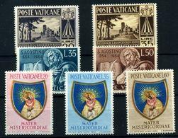 Vaticano Nº 203/9. Año 1954 - Vatican