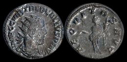 Trebonianus Gallus AR Antoninianus Aequitas Standing Left - 5. The Military Crisis (235 AD To 284 AD)