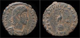 Constantius II AE3 Phoenix On Globe - 7. The Christian Empire (307 AD To 363 AD)