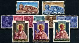 Vaticano Nº 192/202. Año 1954 - Vatican