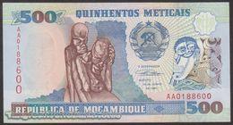TWN - MOZAMBIQUE 134 - 500 Meticais 16.6.1991 Prefix AA UNC - Mozambique