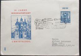 """Österreich 1959, Christkindl """"Stille Nacht Heilige Nacht"""" Gelaufen - 1945-60 Storia Postale"""