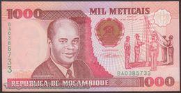 TWN - MOZAMBIQUE 135 - 1000 1.000 Meticais 16.6.1991 Prefix BA UNC - Mozambique