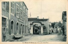 La Mothe St Heray * La Grand'rue * Entreprise Marchand De Vins En Gros * Grand Café DAROLLON - La Mothe Saint Heray