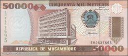 TWN - MOZAMBIQUE 138 - 50000 50.000 Meticais 16.6.1993 Prefix EH UNC - Moçambique