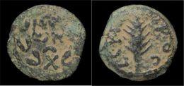 Judaea Porcius Festus Procurator Under Nero AE Prutah - 3. Province