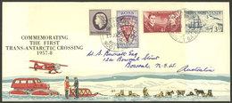 NEW ZEALAND - ANTARCTICA: 20/JA/1958 Scott Base - Australia, Nice FDC Cover - Timbres