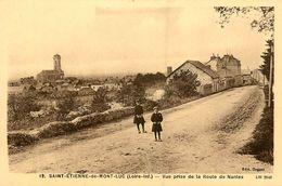 St Etienne De Montluc * Vue Prise De La Route De Nantes - Saint Etienne De Montluc