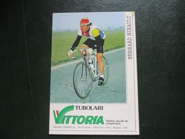Cyclisme Cp Hinault Serie Vittoria Signee - Cyclisme
