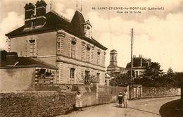St Etienne De Montluc * Rue De La Gare - Saint Etienne De Montluc