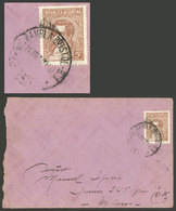 ARGENTINA: RARE POSTMARK: Cover (with Its Original Letter) Sent From Mar Del Plata To Buenos Aires On 24/MAR/1941, Frank - Argentina