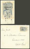 ARGENTINA: Circa 1950, Cover Used In Buenos Aires Franked With REVENUE STAMP Of 20c., WITHOUT Dues, VF, Rare! - Argentina