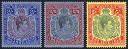 BERMUDA: Sc.123b + 124a + 125a, All Perforation 14, VF - Bermudes