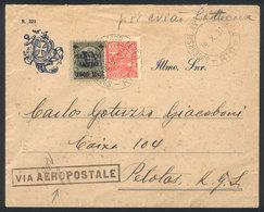 """BRAZIL: 16/OC/1931 RIO DE JANEIRO - Pelotas: Airmail Cover Sent """"VIA AEROPOSTALE"""", Arrival Backstamp Of 19/OCT, VF Quali - Brésil"""