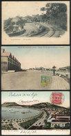 BRAZIL: RIO DE JANEIRO: 3 Old Postcards With Very Good Views, Fine To VF General Quality, Nice Group! - Rio De Janeiro