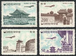 SOUTH KOREA: Sc.C23/C26, 1961 Cmpl. Set Of 4 MNH Values, VF Quality! - Corée Du Sud