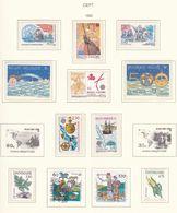 Europa-CEPT - 1992 - Sammlung 1.  - Postfrisch/Gest. - Europa-CEPT