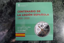 10 Euros 2020 España 100 Años Legión Española - Spain