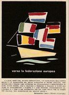 258/FG/20 - EXTRA - MOVIMENTO FEDERALISTA EUROPEO: Manifestazione Internazionale Ponte S. Luigi-Nizza -28/12/52 - Eventos